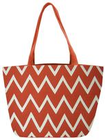 Viola Chevron Shopper Tote Bag