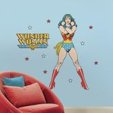 Bed Bath & Beyond Classic Wonder Woman Peel and Stick Giant Wall Decals
