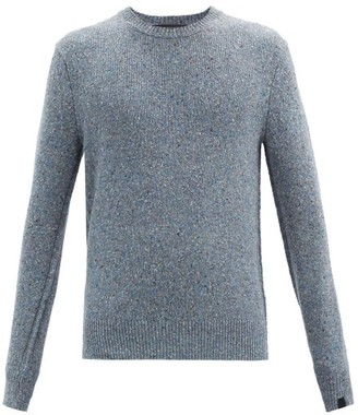 Rag & Bone Scout Speckled Recycled Wool-blend Sweater - Blue