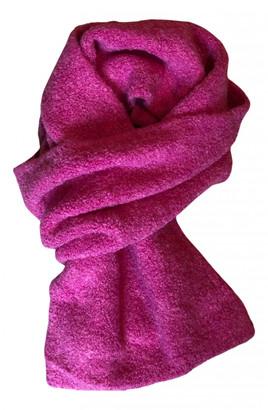 Benetton Pink Wool Scarves