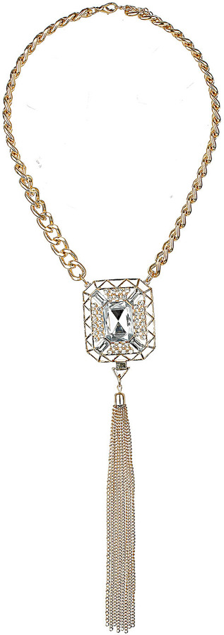 Topshop Square Stone and Drop Neckwear