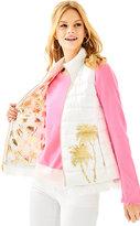 Lilly Pulitzer Layli Masterpiece Puffer Vest
