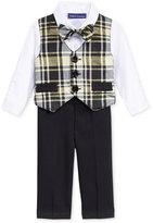 Bonnie Baby 4-Pc. Plaid Suit Set, Baby Boys (0-24 months)