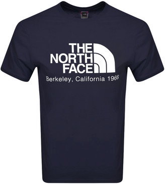 The North Face Fine 2 T Shirt Navy