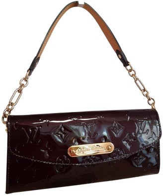 Louis Vuitton Sunset Boulevard Burgundy Patent leather Handbags