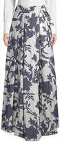 Milly Women's Jackie Floral Maxi Skirt
