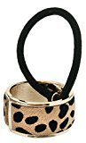L. Erickson USA Hair Calf Inlay Cuff Pony - Sand Leopard