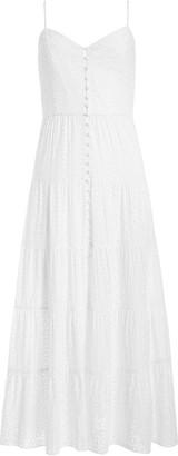 Alice + Olivia Shanti tiered maxi dress