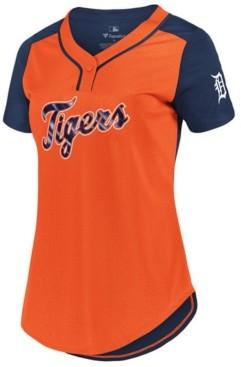 Majestic Women's Detroit Tigers League Diva T-Shirt