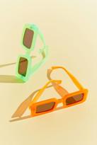 Chimi Neon Rectangle Sunglasses