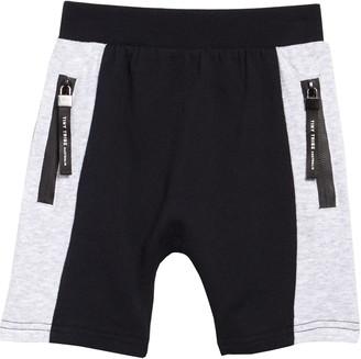TINY TRIBE Colorblock Side Segment Shorts