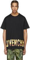 Givenchy Black Logo Horizon T-Shirt