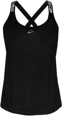 Nike x Off-White cross back running tank top