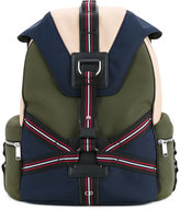 Christian Dior three-tone canvas backpack with straps - men - Cotton/Neoprene - One Size