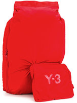 Y-3 attached pouch backpack - men - Polyester - One Size
