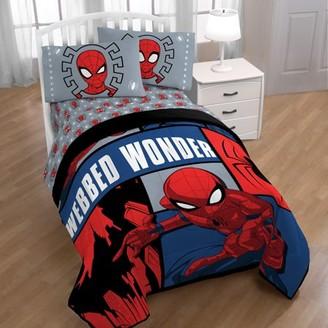 The Amazing Spiderman Marvel Spiderman Webbed Wonder Twin Sheet Set