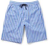 Ami Striped Cotton Bermuda Shorts