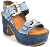 See by Chloe SB30091 - Denim Platform Sandal