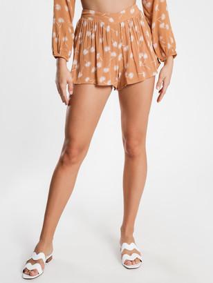 Amuse Society Mojito Shorts in Rum Tan