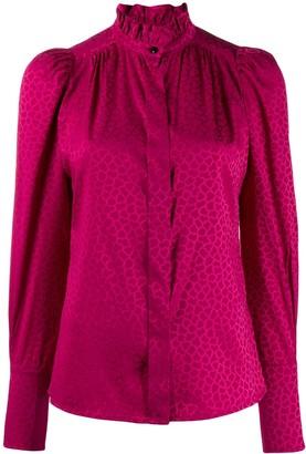 Isabel Marant printed Lamia blouse