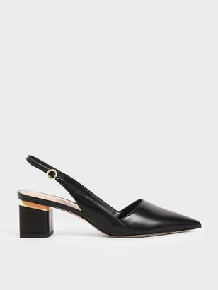 Charles & Keith Pointed Slingback Heels