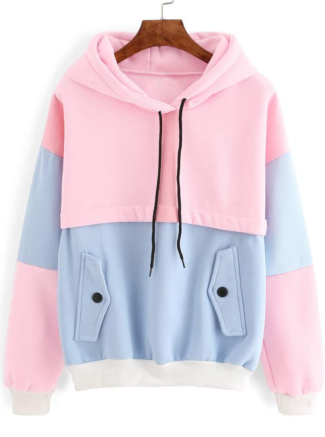 48ccd08467 Cut & Sew Hoodie - ShopStyle