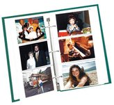 "Pioneer Refill Pages for 3-Ring Photo Albums, holds 3-1/2"" x 5"" Photos, Pack of 5 Pages."