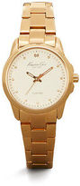 Kenneth Cole Goldtone Watch With Diamond Marker