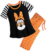 Disney Minnie Mouse Halloween PJ Set for Women