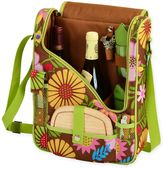 Picnic at Ascot Floral Wine and Cheese Cooler Bag for 2
