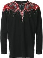 Marcelo Burlon County of Milan Worr long-sleeve T-shirt - men - Cotton - XS