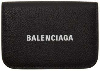 Balenciaga Black Cash Mini Card Holder