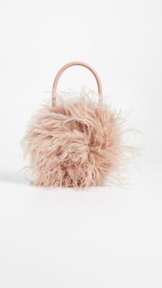 Loeffler Randall Zadiea Feather Circle Tote Bag
