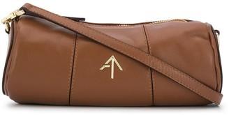 MANU Atelier Cylinder leather crossbody bag