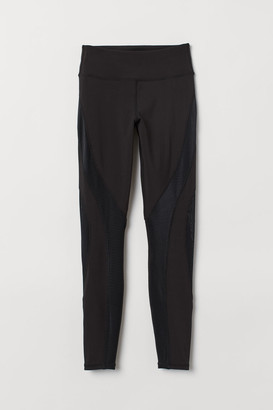 H&M Sports Tights Shaping Waist - Black