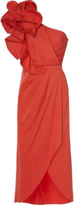 Johanna Ortiz Exclusive Persian Opulence Cotton-Blend Midi Dress