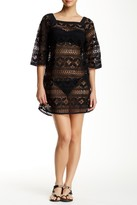 Gypsy 05 Gypsy05 Crocheted Lace Cover Up Dress