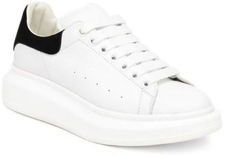 Alexander McQueen Women's Suede & Leather Platform Sneakers