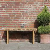 Oak&Ford Oak Personalised Benches