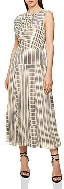 Reiss Raya Striped Maxi Dress