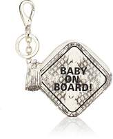 "Anya Hindmarch WOMEN'S ""BABY ON BOARD!"" COIN PURSE"