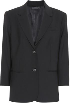 The Row Schoolboy stretch wool blazer