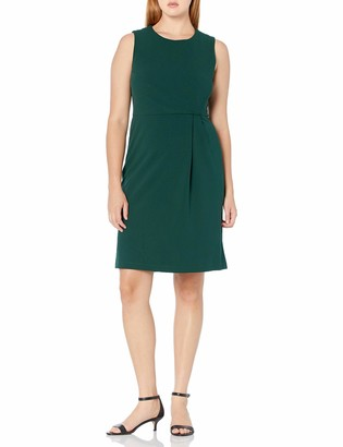 Ronni Nicole Women's Sleevless Solid Sheath