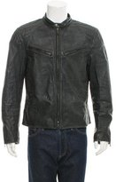 Ralph Lauren Black Label Leather Moto Jacket
