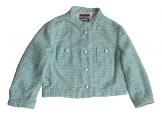 Moschino Turquoise Tweed Jackets