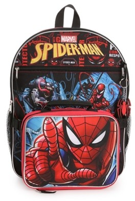 Fast Forward Spiderman 4-Piece Backpack Set