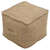 Threshold Outdoor Fabric Pouf - Natural