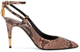 Tom Ford Python Pumps - Blush