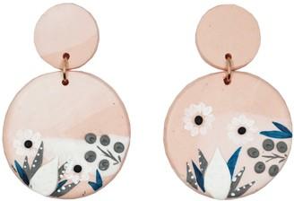 Pink Minimalist Mini Drop Earrings