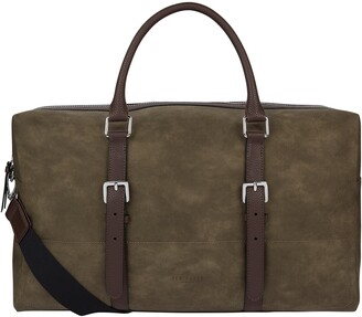 Ted Baker Textured Faux Leather Briefcase